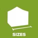 Folding Tents - Sizes
