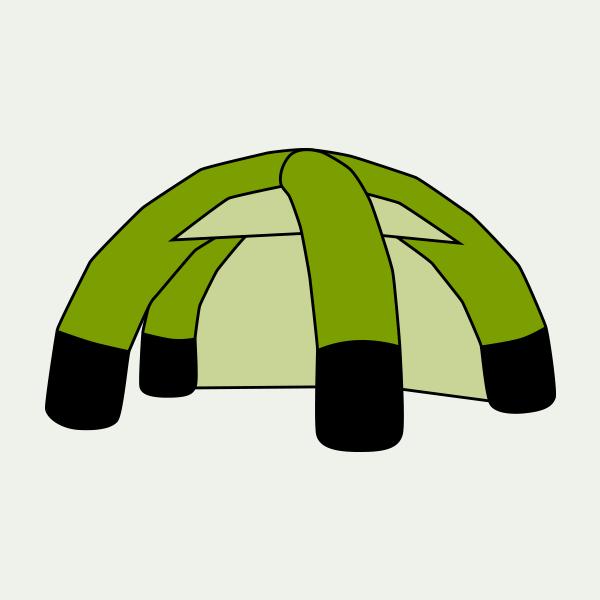 Aufblasbares Zelt - Inflatable - Titelbild